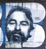 Robert De Niro Graffiti-Kunstwerk Stockfoto