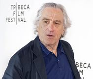 Robert De Niro at the Premiere of `It Takes a Lunatic` at the 2019 Tribeca Film Festival stock photography