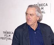Robert De Niro at the Premiere of `It Takes a Lunatic` at the 2019 Tribeca Film Festival royalty free stock photography