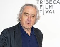 Robert De Niro at the Premiere of `It Takes a Lunatic` at the 2019 Tribeca Film Festival stock image