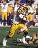 Robert Del Pino. Los Angeles Rams RB Robert Del Pino, #39.  Image taken from color slide Royalty Free Stock Images