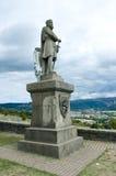 Robert den Bruce statyn - Skottland, Stirling Royaltyfri Foto