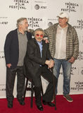 Robert DeNiro, Burt Reynolds, and Chevy Chase Royalty Free Stock Photo