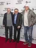 Robert DeNiro, Burt Reynolds och Chevy Chase Royaltyfri Fotografi