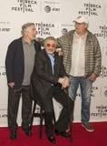 Robert DeNiro, Burt Reynolds, y Chevy Chase Foto de archivo libre de regalías