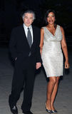 Robert DeNiro and Grace Hightower Royalty Free Stock Images