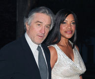 Robert DeNiro and Grace Hightower Stock Photo