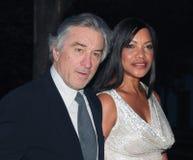 Robert DeNiro and Grace Hightower Stock Photo
