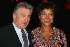 Robert DeNiro and Grace Hightower Royalty Free Stock Photo