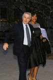 Robert DeNiro and Grace Hightower Stock Photos
