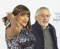 Robert DeNiro und Anmut Hightower Stockbild