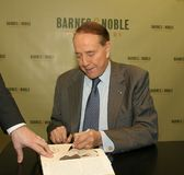 "Robert Dole. Robert ""Bob"" Dole appears at a book signing for his work, `One Soldier`s Story: A Memoir,` in New York City on April 13, 2005. The Kansan Royalty Free Stock Photo"
