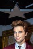 Robert Douglas Thomas Pattinson in Madame Tussaud wax museum. Robert Douglas Thomas Pattinson (born 13 May 1986) , English actor, model, , musician and producer Stock Image