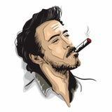 Robert Downey Jr lizenzfreie abbildung