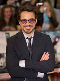 Robert Downey, jr. Stockbild