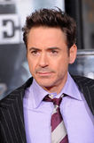Robert Downey Jr royaltyfri foto