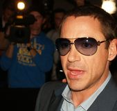 Robert Downey Jr. Photos libres de droits
