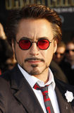 Robert Downey Jr images libres de droits