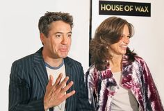 Robert Downey Jr e Susan Downey foto de stock royalty free