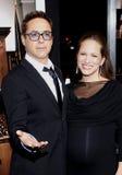 Robert Downey Jr en Susan Downey royalty-vrije stock afbeeldingen