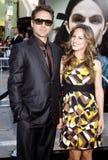 Robert Downey Jr en Susan Downey royalty-vrije stock foto's