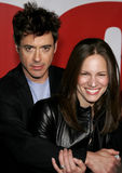 Robert Downey Jr et Susan Downey photo stock