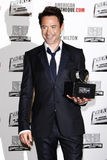 Robert Downey Jr, Robert Downey Jr., Robert Downey, Jr. LOS ANGELES - OCT 14:  Robert Downey Jr arriving at the 25th American Cinematheque Award Honoring Robert Royalty Free Stock Photos