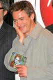 Robert Downey Jr, Robert Downey, Jr., Robert Downey Jr. , as virgens fotografia de stock