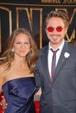Robert Downey, Jr.,Susan Downey Royalty Free Stock Photos