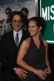 Robert Downey Jr, Susan Downey stock foto's