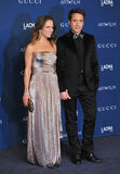 Robert Downey Jr & Susan Downey stock foto