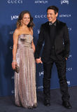 Robert Downey Jr & Susan Downey arkivfoton