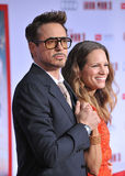 Robert Downey Jr & Susan Downey Στοκ Εικόνες