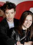 Robert Downey Jr. and Susan Downey Stock Photography