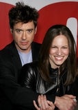 Robert Downey Jr. and Susan Downey Royalty Free Stock Image