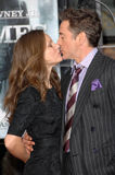 Robert Downey Jr, Susan Levin Stock Photography