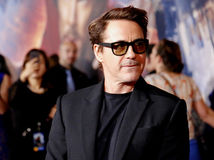 Robert Downey Jr. Stock Photo
