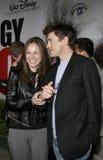 Robert Downey Jr y Susan Downey fotografía de archivo libre de regalías