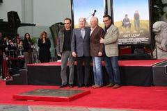 Robert Duvall, Andy Garcia, Billy Bob Thornton, James Caan, Billy KIWA Thornton obraz royalty free