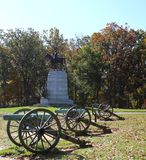Robert e lee gettysburg monument Royalty Free Stock Image