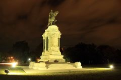 Robert E. Lee Monument Royalty Free Stock Images