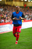 Robert Earnshaw Wales. Robert Earnshaw of Wales warming up prior to their World Cup Qualifier match against Russia at The Millennium Stadium, Cardiff, September Stock Photos