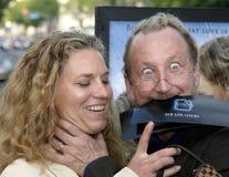 Robert Englund i Nancy budka Obraz Royalty Free