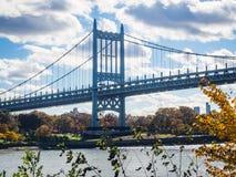 Robert F Kennedy-Brücke in New York lizenzfreies stockbild