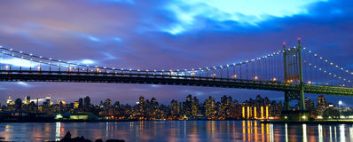 Robert F. Kennedy Bridge (formerly Triborough) Stock Photography