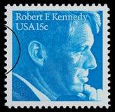 Robert F Kennedy Postage Stamp Immagine Stock