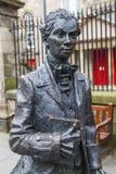 Robert Fergusson Statue em Edimburgo foto de stock