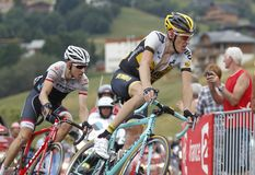 Robert Gesink and Bauke Mollema Tour de France 2015 Stock Photography