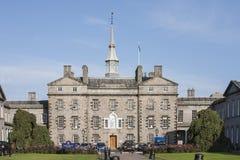 Robert Gordon`s College in Aberdeen City, Scotland. Historic Robert Gordon`s College in Aberdeen in Scotland stock images
