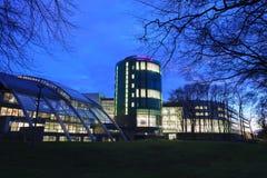 Robert Gordon University (RGU) à Aberdeen pendant le lever de soleil Photographie stock